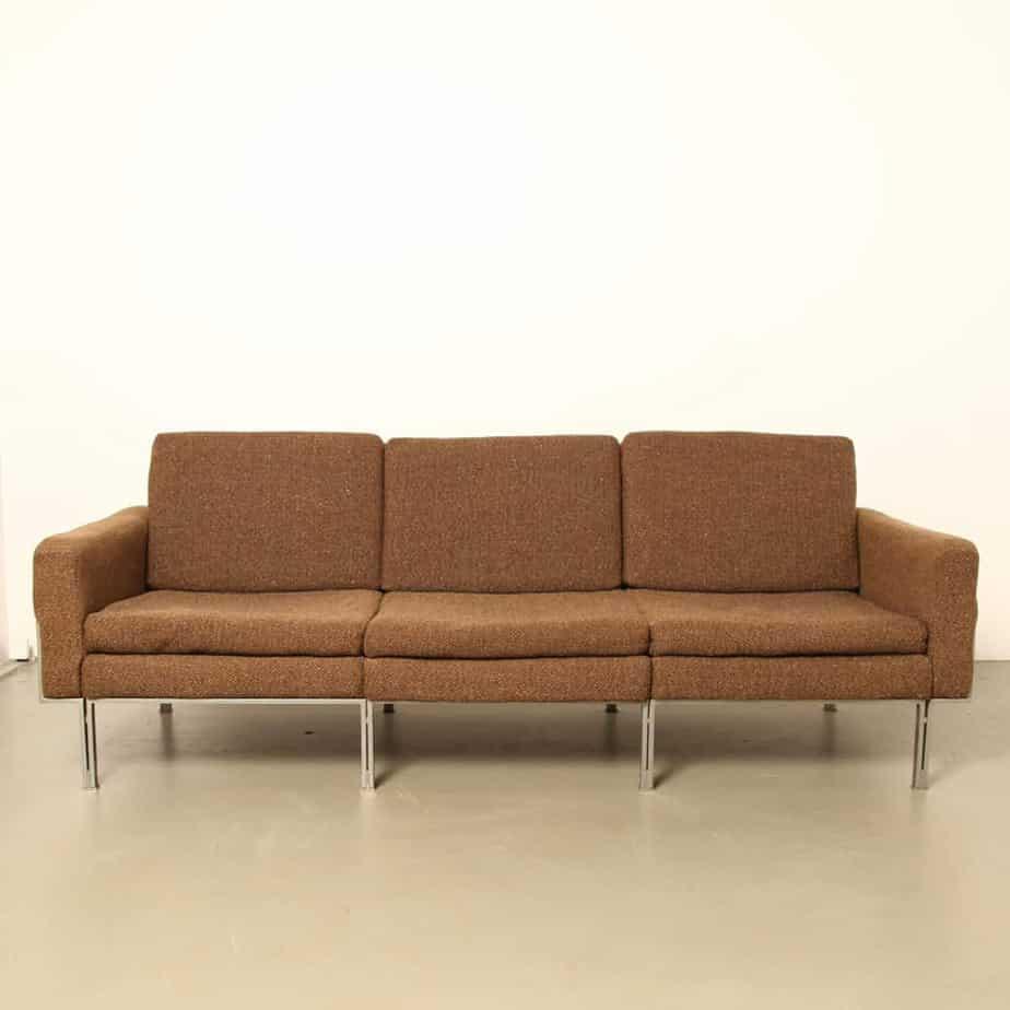 Florence Knoll Parallel Bar Sofa ⋆ Neef Louis Design Amsterdam