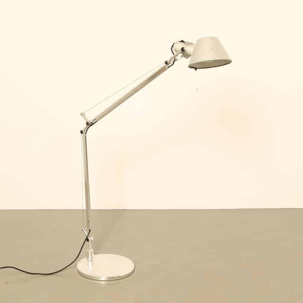 Artemide Tolomeo desk light with foot