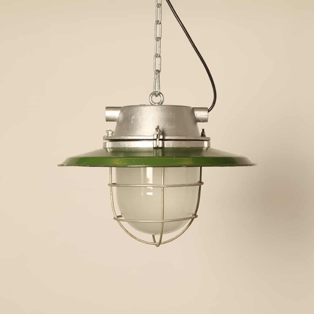 CCCP hanging light green enamel