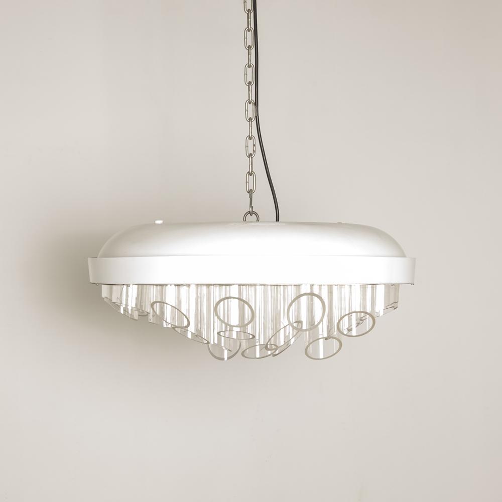 Hanging Lamp Chandelier Leftover Short Neef Louis Design Amsterdam