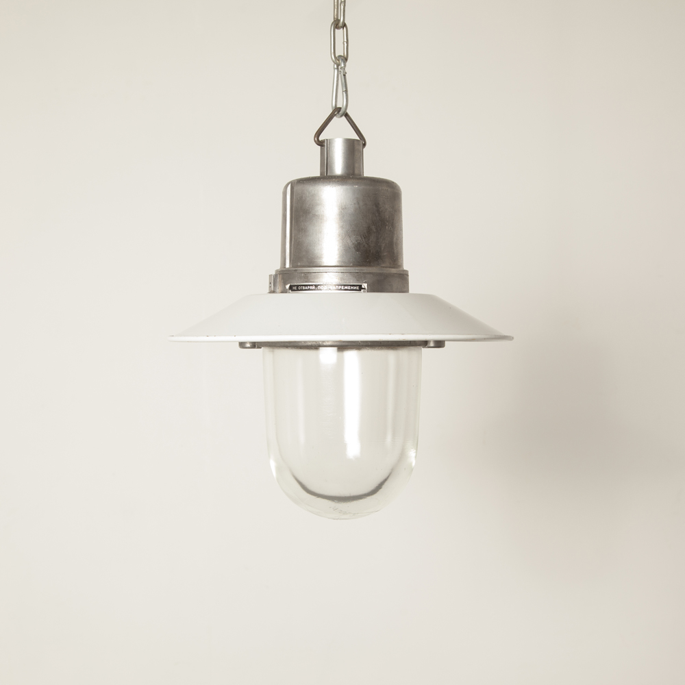 Hanging lamp industrial Bullseye Bolts light Bulgaria without cage aluminum E27 splash-proof cast housing thick pressed glass shade vintage retro rugged bulleye screw top extra