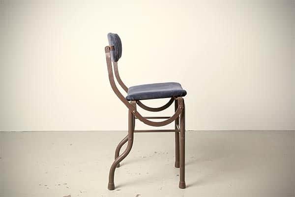 Schreibtischstuhl, Schreibkraftstuhl, Schreibtischstuhl der zwanziger Jahre, antiker Schreibtischstuhl,