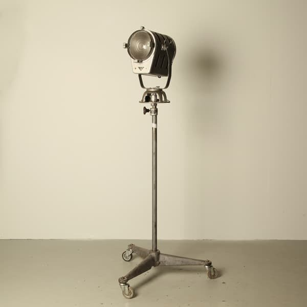 standing theater lamp, theater lamp used,