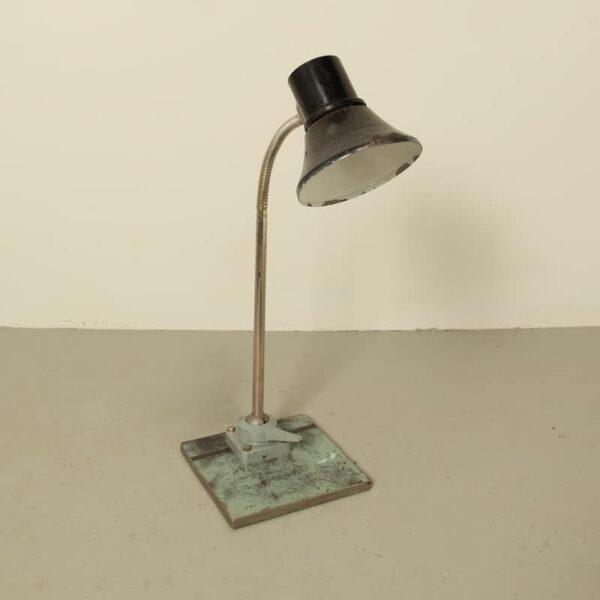 Lampada da scrivania UssR, lampada da scrivania industriale
