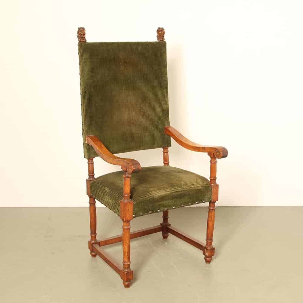 19th century french armchair Throne