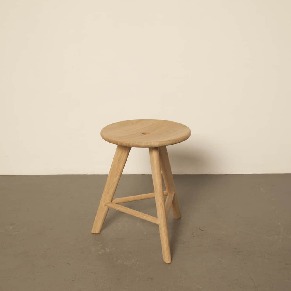 Frikk Erik Wester Tonning & Stryn 2015 stool solid oak Norway industrial design low