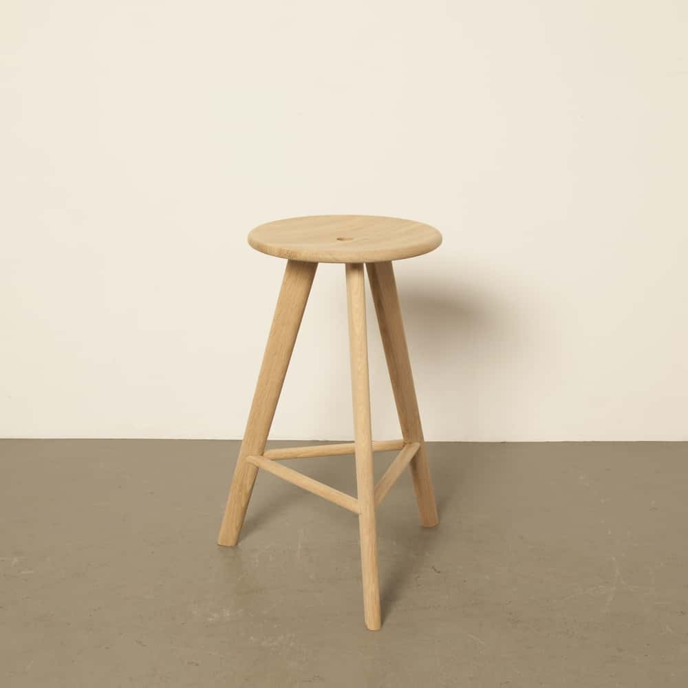 Frikk Erik Wester Tonning & Stryn 2015 stool solid oak Norway industrial design middle
