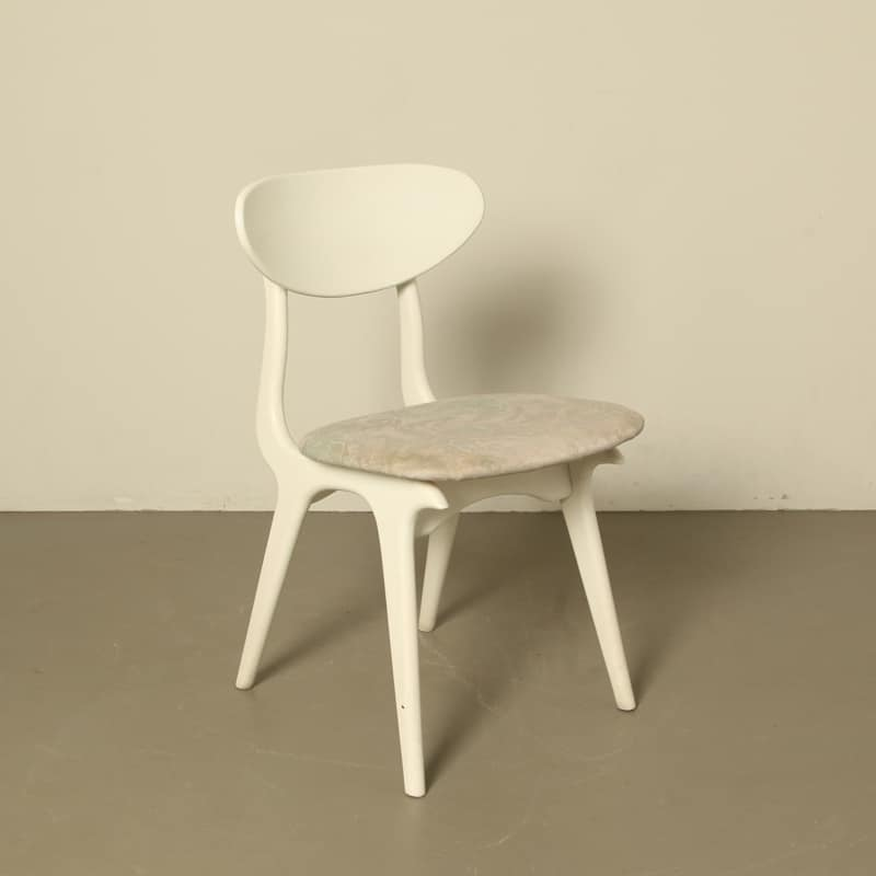webe chair Louis van Teeffelen white