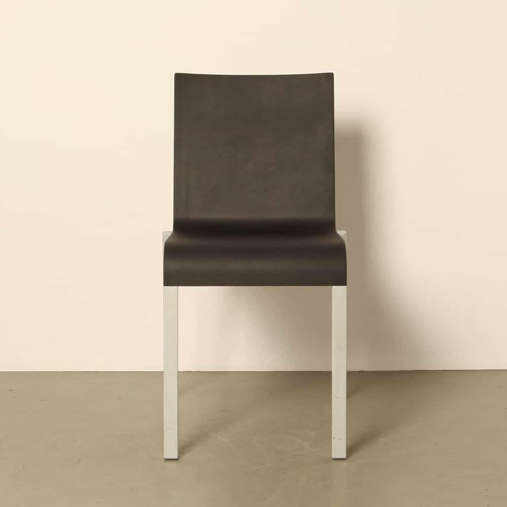 03 stoel Maarten Severen Vitra grijs ⋆ Neef Louis Design