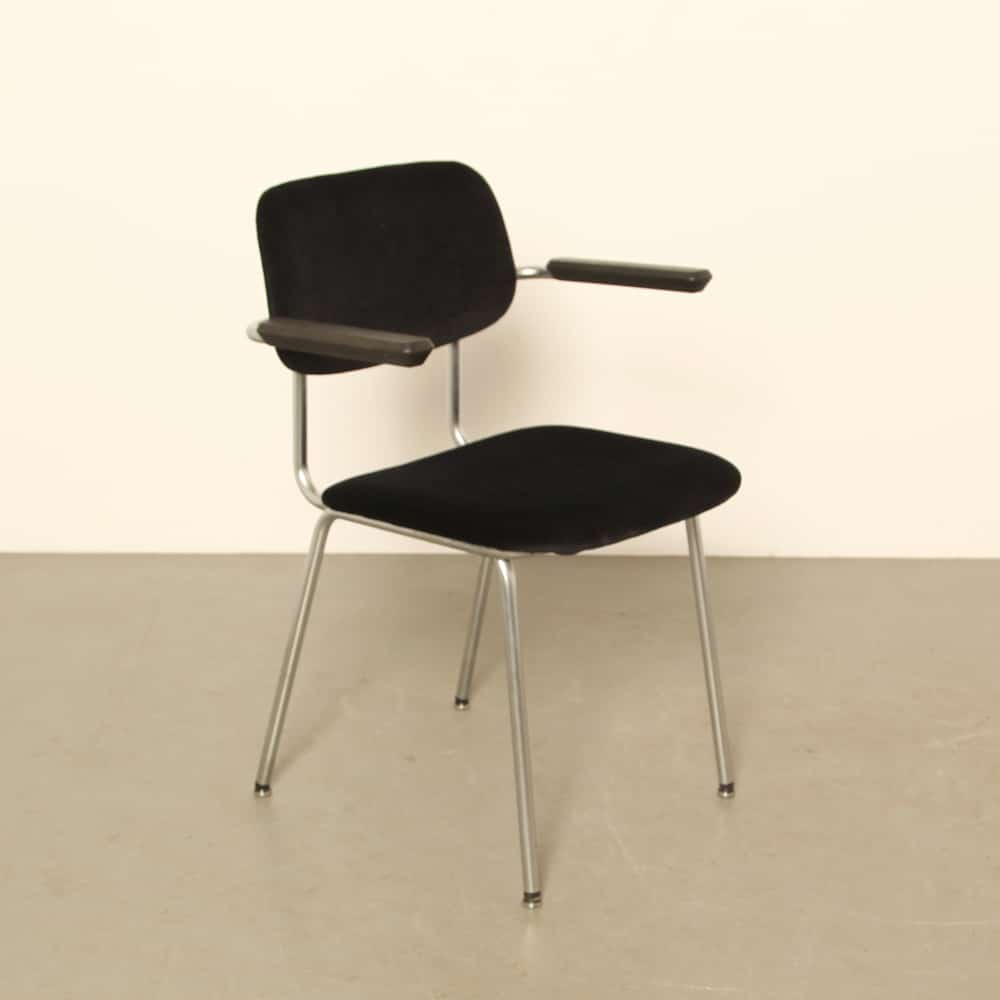 Gispen Bent-Chroom-Tube chair 1236