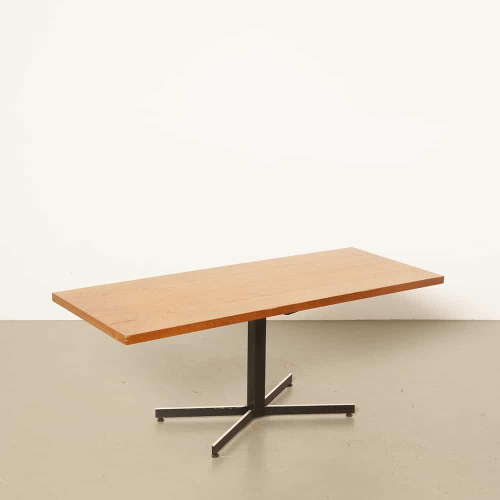 Ilse Möbel 독일 커피 테이블 공압 높이 조절 1960 년대 XNUMX 년대 빈티지 레트로