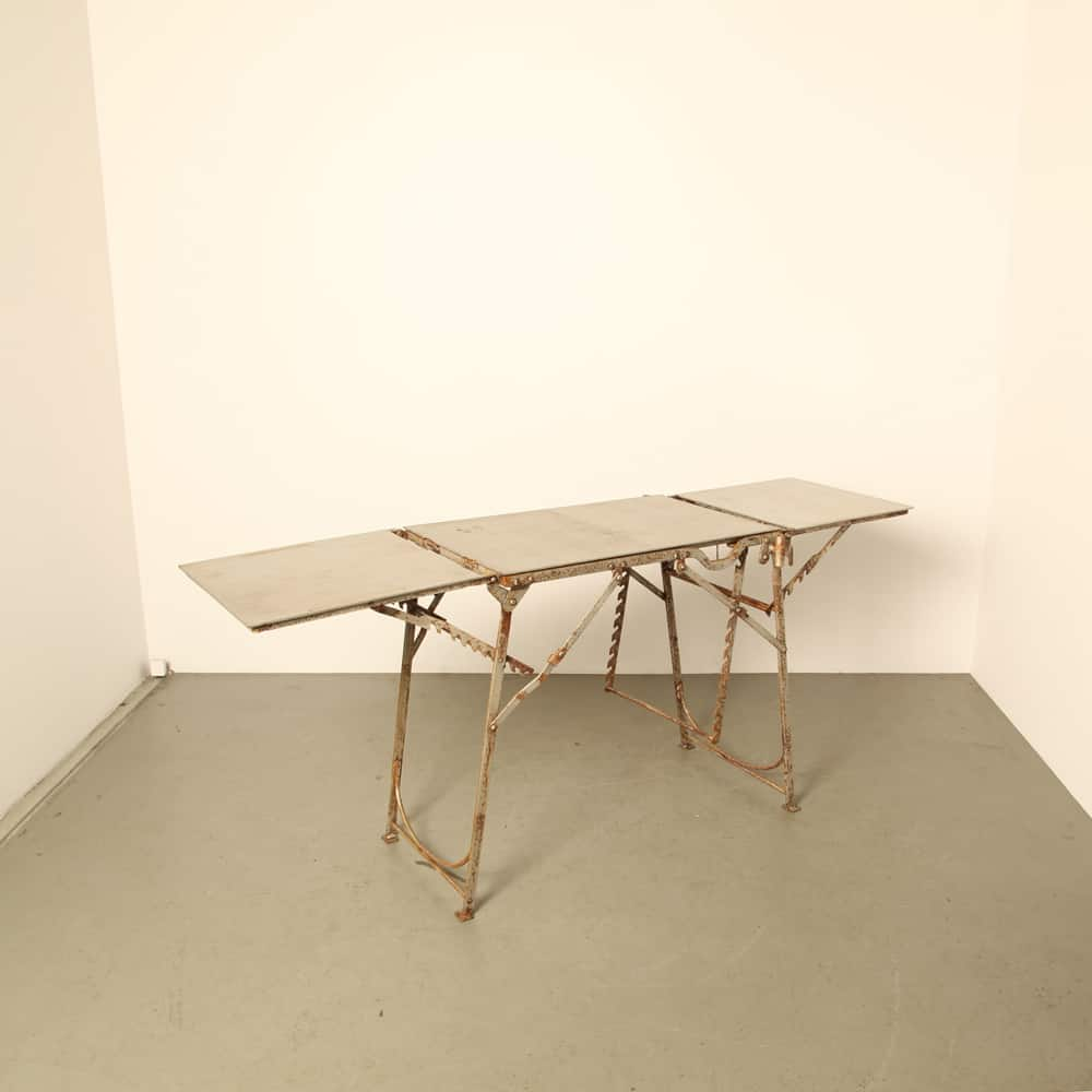 Field Operating Table or Torture Room Table rust