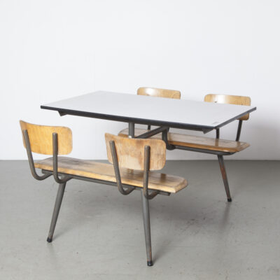 School Picnic Canteen table 4-seater 9
