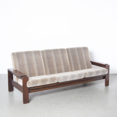 vintage 3-seat couch sofa 9