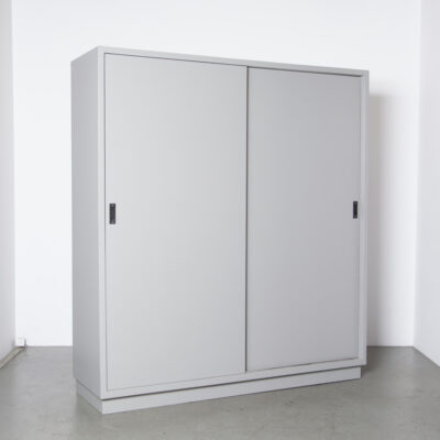 Laboratory cabinet grey solid door 8