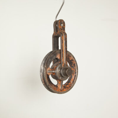 old pulley 5