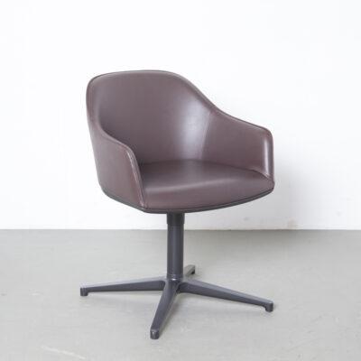 Softshell Chair Ronan Erwan Bouroullec Vitra brown 9