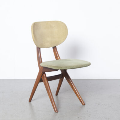 Scissor chair Louis van Teeffelen WeBe green 14