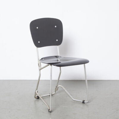 Aluflex chair Armin Wirth Ph Zieringer KG black 22