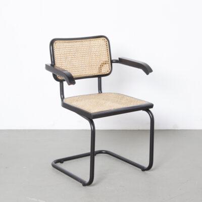 Thonet S64椅子Marcel Breuer黑色-黑色4
