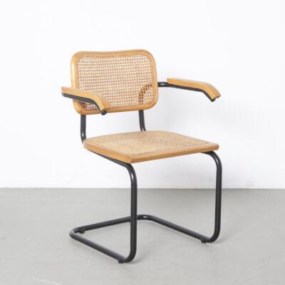 Thonet S64椅子Marcel Breuer天然黑2
