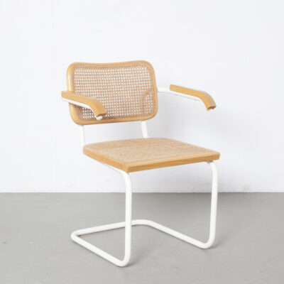 Thonet S64 chair Marcel Breuer natural-white 7