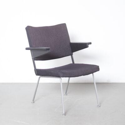 Gispen chair 1445 Cordemeyer dark grey-brown 11