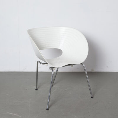 Chaise Tom Vac Ron Arad Vitra blanc 11
