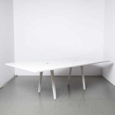 Joyn会议桌Bouroullec Vitra白色12