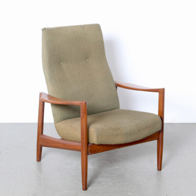 -Danish-armchair-1950s-re-upholstery-teak-wood-frame-fifties-lounge-easy-chair-vintage-Scandinavian-modern-midcentury