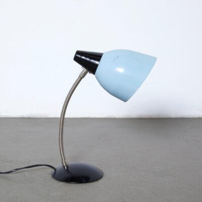 -LBo-9-lampada-da-tavolo-Zaos-blu-polonia-anni '60-vintage