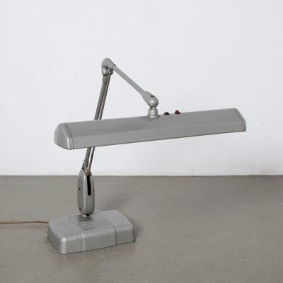 -модель 2324-25-Dazor-настольная лампа-рабочий-инструмент-держатель-ручка-Сент-Луис-США-серый-плавающий-светильник