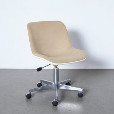 -Houtoku-Japanese-licensee-Artifort-Eames-style-office-desk-chair-wheel-swivel-Space-Age-fantastic-plastic-vintage-60s-70s