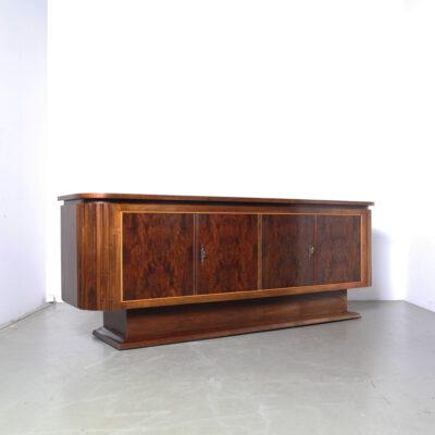 -tafel-cosy-220-walnoot-zwet-nijmegen-sleutel-credenza-kast-dressoir-jaren 70-art-deco