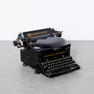 -Underwood-Noiseless- 타자기 -Elliott-Fischer-Hartford-usa-antique-20s-30s-vintage-3937285