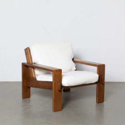 модель-Bonanza-кресло-Esko-Pyjamies-Asko-rib-ткань-белый-дуб-винтаж-Финляндия-60-х годов