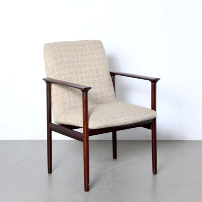 -Impala-armchair-Cor-Bontenbal-Fristho-desk-chair-1962-wool-wood-60s-netherlands-vintage-brown