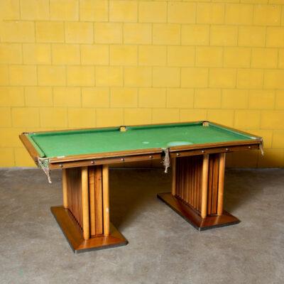 -EJ-Riley-LTD-home-billiard-table-Accrington-30s-vintage-antique-Mahogany-Willow-Mills
