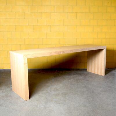 -Bar-tafel-statafel-toonbank-kantoor-u-vorm-massief-eiken-strak-design-zwaar-modern