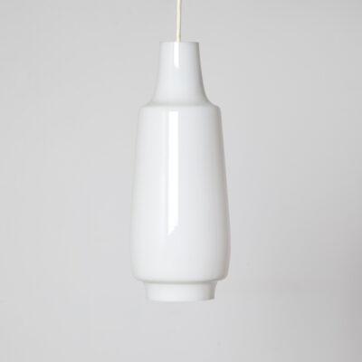 Hanglamp Hanglamp Licht wit opaal melkglas gelaagd glas E27 fitting decoratief vorm kap vintage retro midden van de eeuw modern 60s 1960s XNUMXs