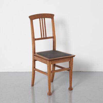 كرسي الحلاق البيانو كرسي الطفل مقعد الصلبة خشب البلوط الزنجار رمادي جلدي ارتفاع قابل للتعديل آلية مقص الأصلي التصميم الكلاسيكي خمر الرجعية